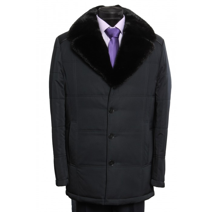 """Куртка классическая """"английский воротник норка"""""""