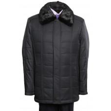 Куртка классическая воротник норка 16DS003
